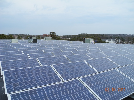 100.776kW system engineered, designed and installed by Beaumont Solar