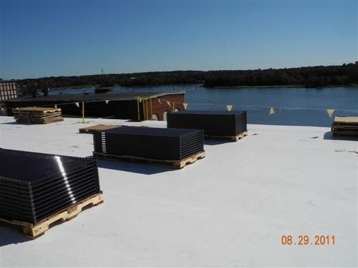 1408 200 watt solar panels make up this 281.60kW system