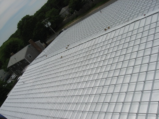 183kW system on standing seam metal roof