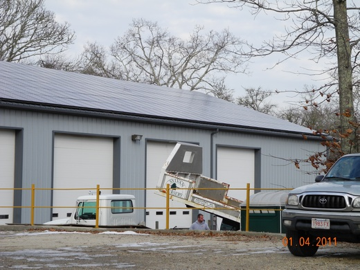 236.32kW spanning 3 buildings - Building One completed installation 78.54kW