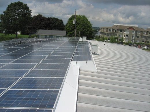 37.1kW system engineered, design and installed by Beaumont Solar for this public transportation companykW