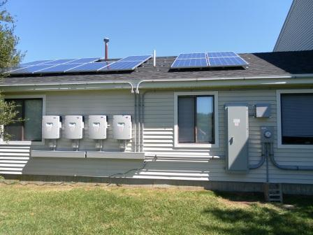 4 SMA Inverters from one of 36 solar systems engineered, designed and insyalled by Beaumont Solar