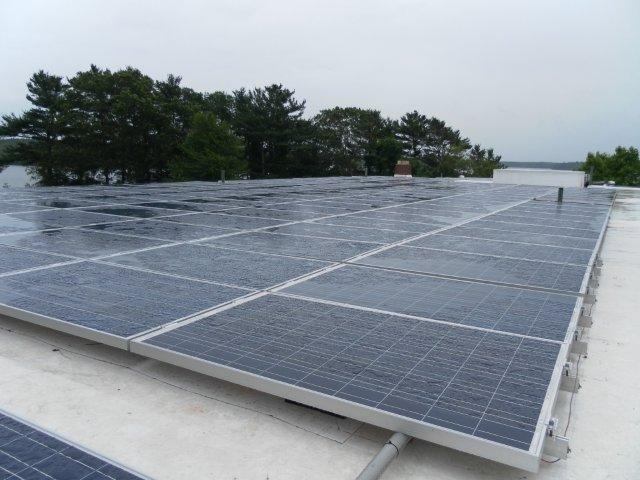 41.4kW system with an average annual output of 49,420kWh