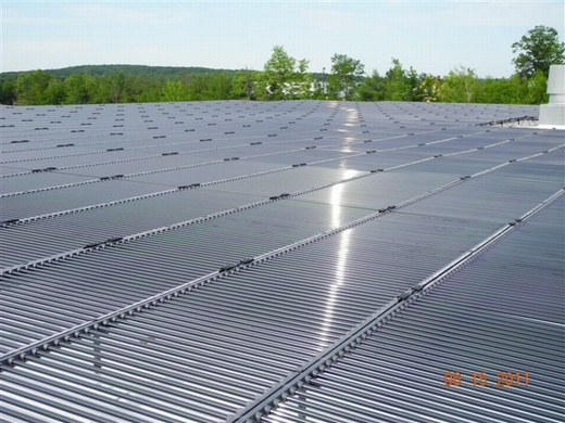 460.80kW ballasted solar system