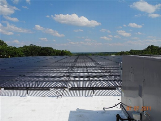 460.80kW system brings Clarke Corporation to a $0.00 electric bill
