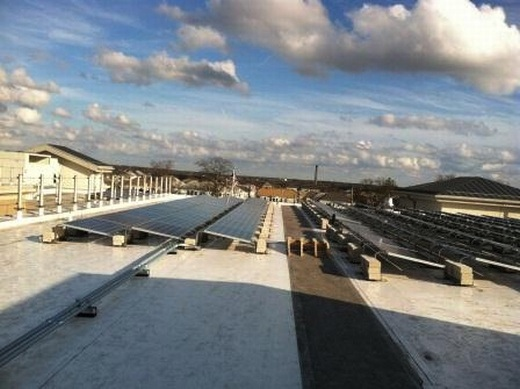 61.10kW ballasted system