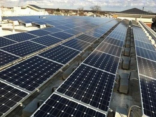 61.10kW solar array