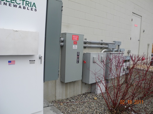 95kW inverter and external disconnect
