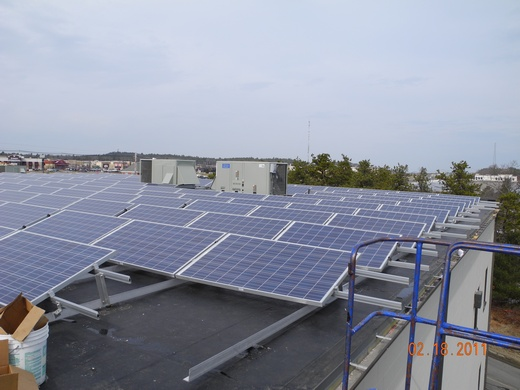 A total of 442 SER-228 modules are installed at a 20 degree tilt