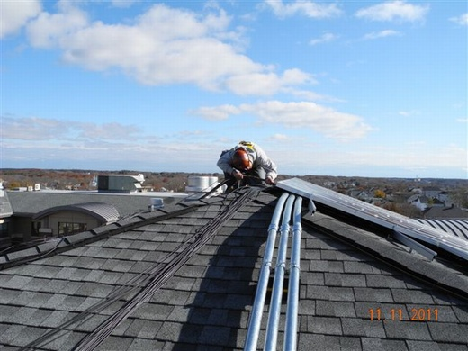 All electrical work is performed by highly skilled in-house Beaumont Solar electricians