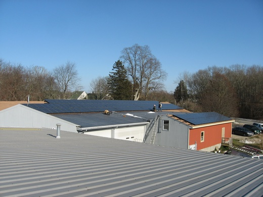 Beaumont Solar engineered, designed and installed this 34kW system for the Crosby and Baker Winery