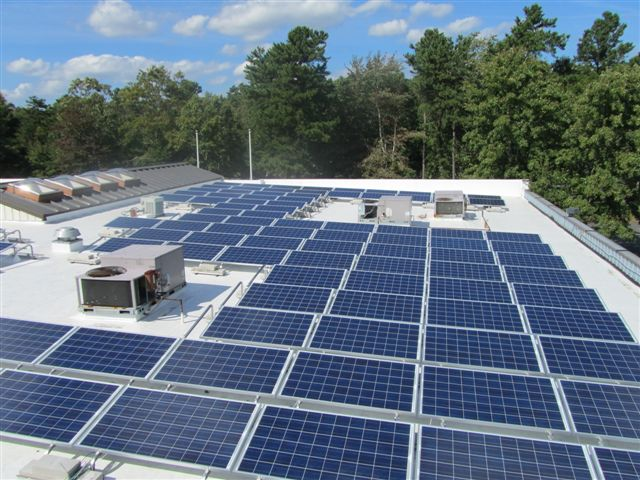 Beaumont Solar engineers designed this system to maximize available roof space
