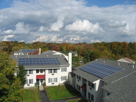 Beaumont Solar implemented 371.228kW of solar energy for this property management company on 36 buildings across 4 properties
