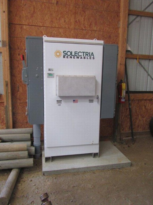 Beaumont Solar in-house engineers and design team designed this 92.82kW system with a Solectria PVI-95 inverter