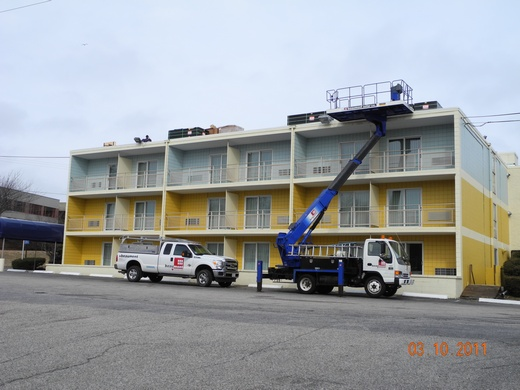 Beaumont Solar installs solar on the first hotel on Cape Cod to switch to solar energy