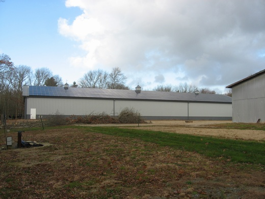 Building Two completed 92.82kW solar system