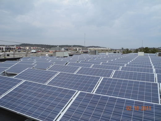 Complete with monitoring system for student learning and system performance, this 100.776kW system was engineered, designed and installed by Beaumont Solar