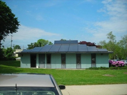 First system installed for Pollack Realty LLC was 10.08kW, to which they had Beaumont Solar install an additional 20.475kW one year later