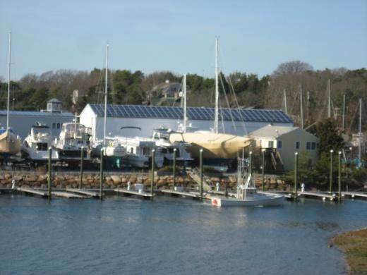 Kingman Yacht Center 100kW solar system