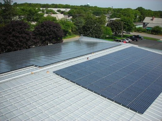 Portion of 183kW system