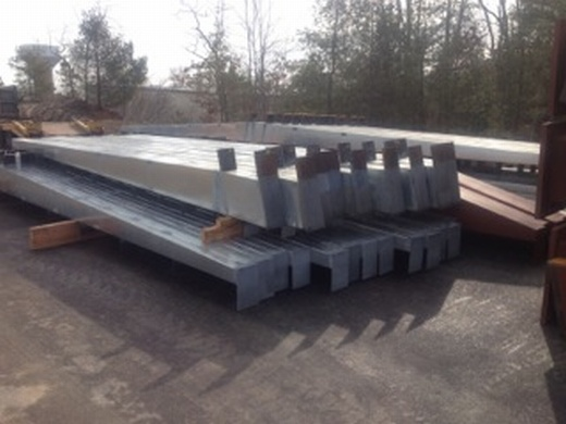Steel for carport structures