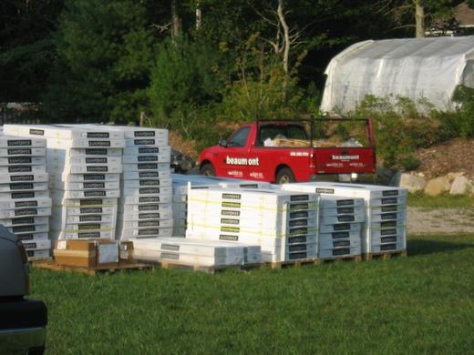 SunPower 230 watt modules arrive