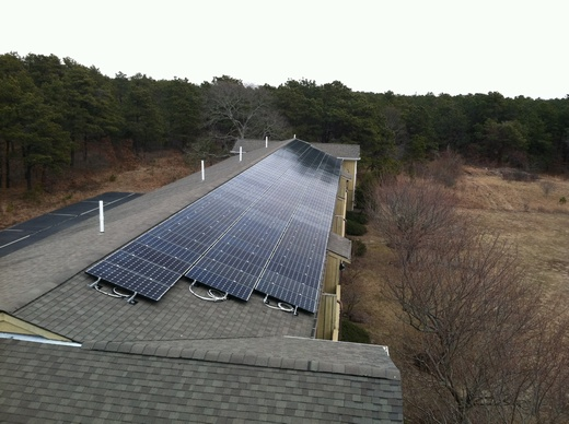 Total 64.60kW system uses a total of 270 solar panels