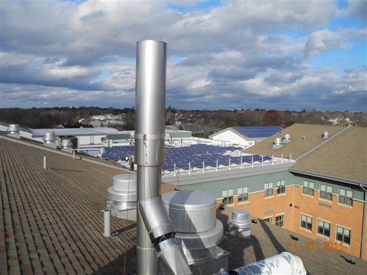 Total 85.54kW system uses ARRA Compliant equipment