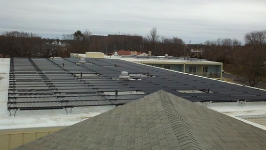 Total 92kW system spans three roofs of the Heritage House Hotel