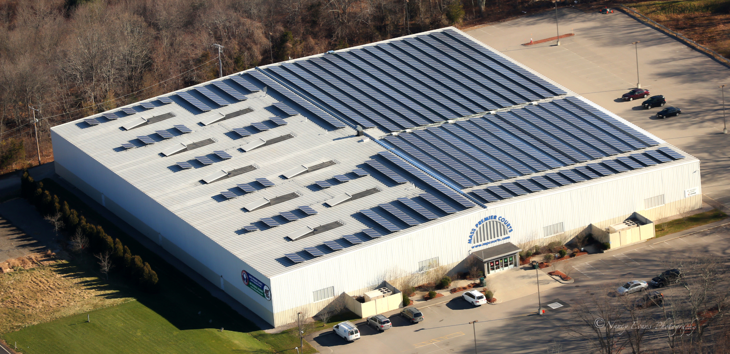 Beaumont Solar designed Mass Premier's 389.40kW system specifically to avoid any costly upgrades to the utility grid