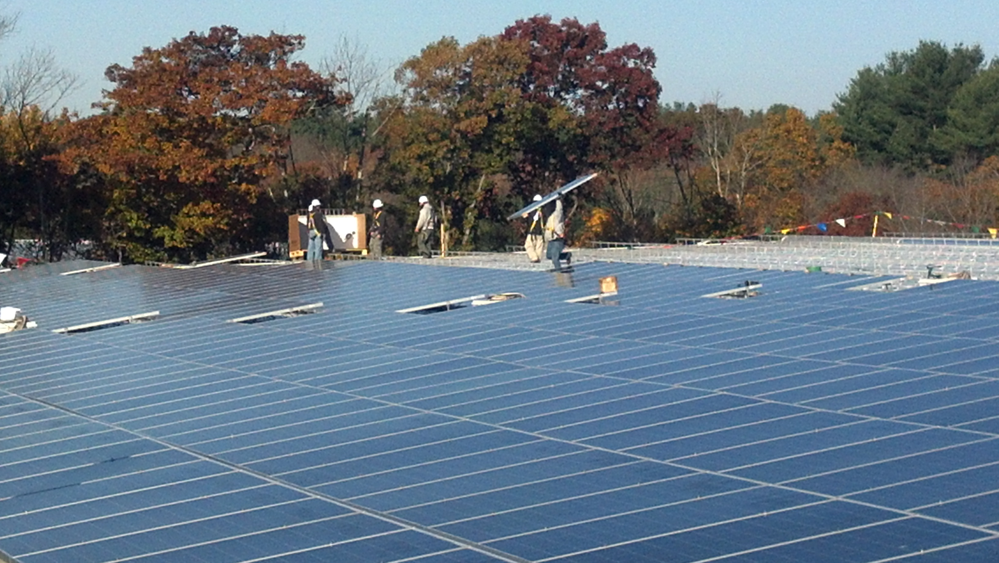 Beaumont Solar in-house staff designed and implemented this 389.40kW solar system