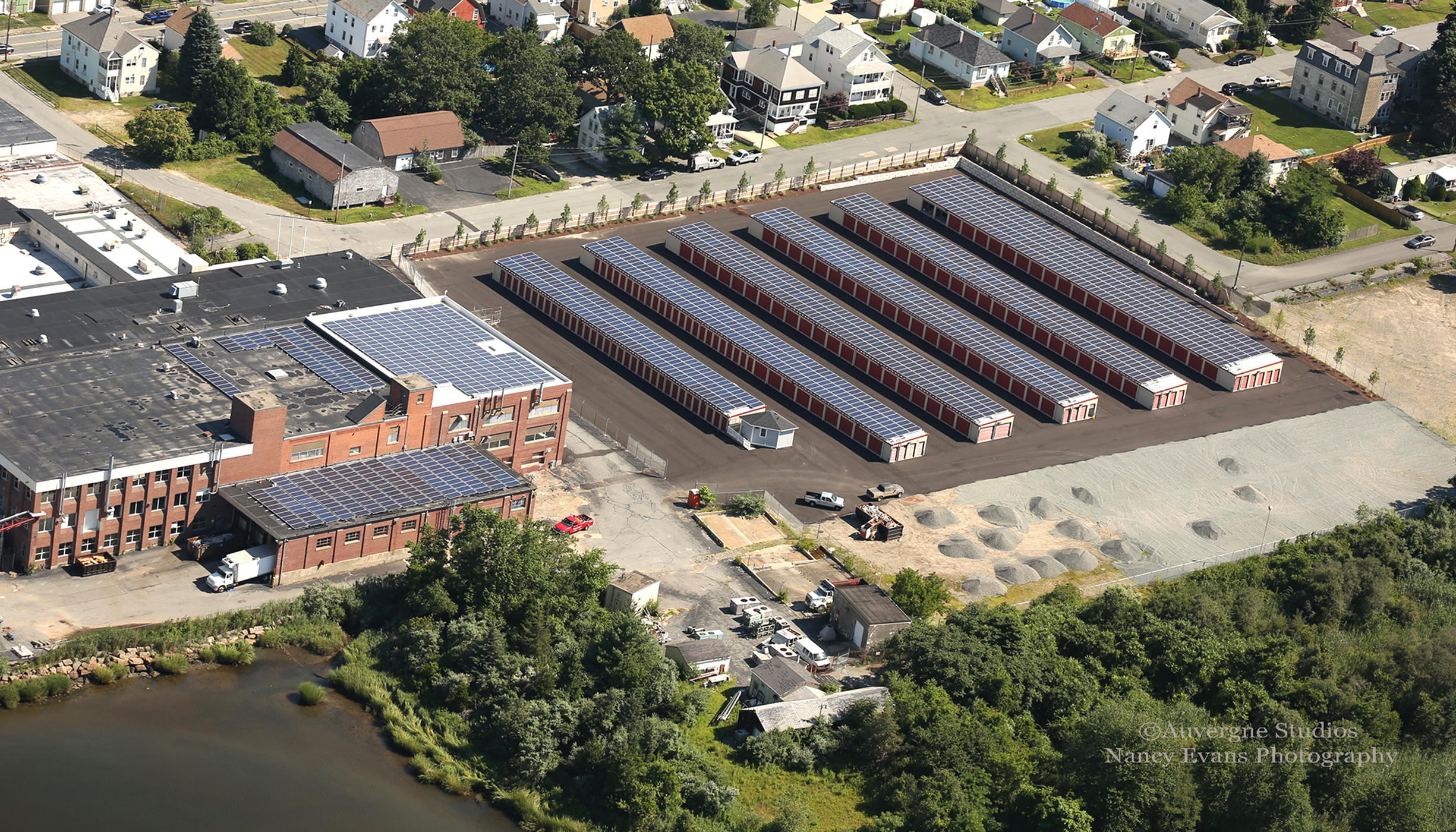 516kW make up this self-storage project