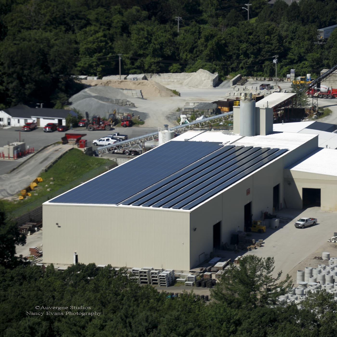 Shea concrete is a 386kW project