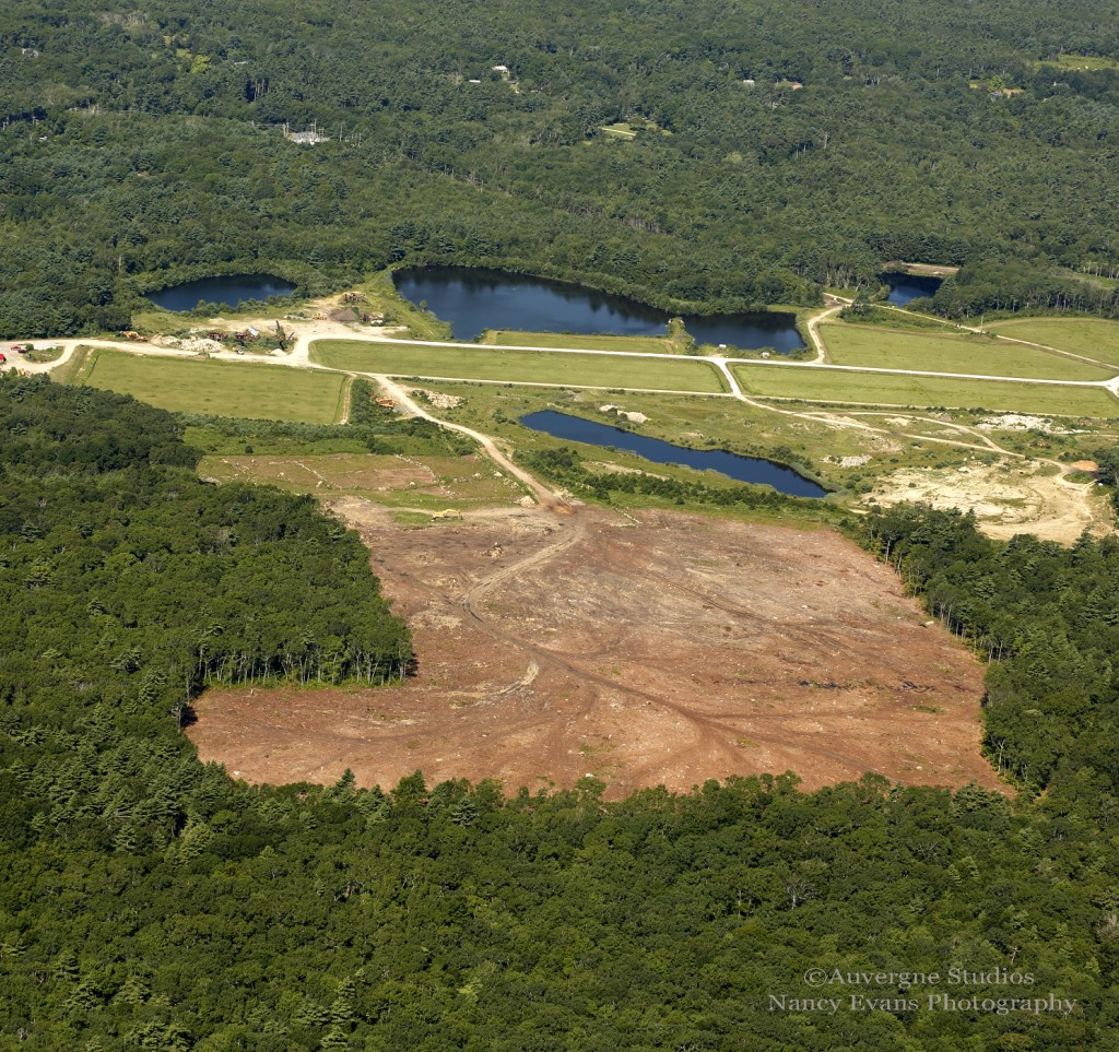 Clearing for the 6MW solar array under a land lease, PPA agreement