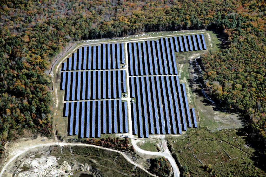 The 19,998 solar panels that make up this 6MW system in Dartmouth MA will generate approx. 5,400,000kWh annually
