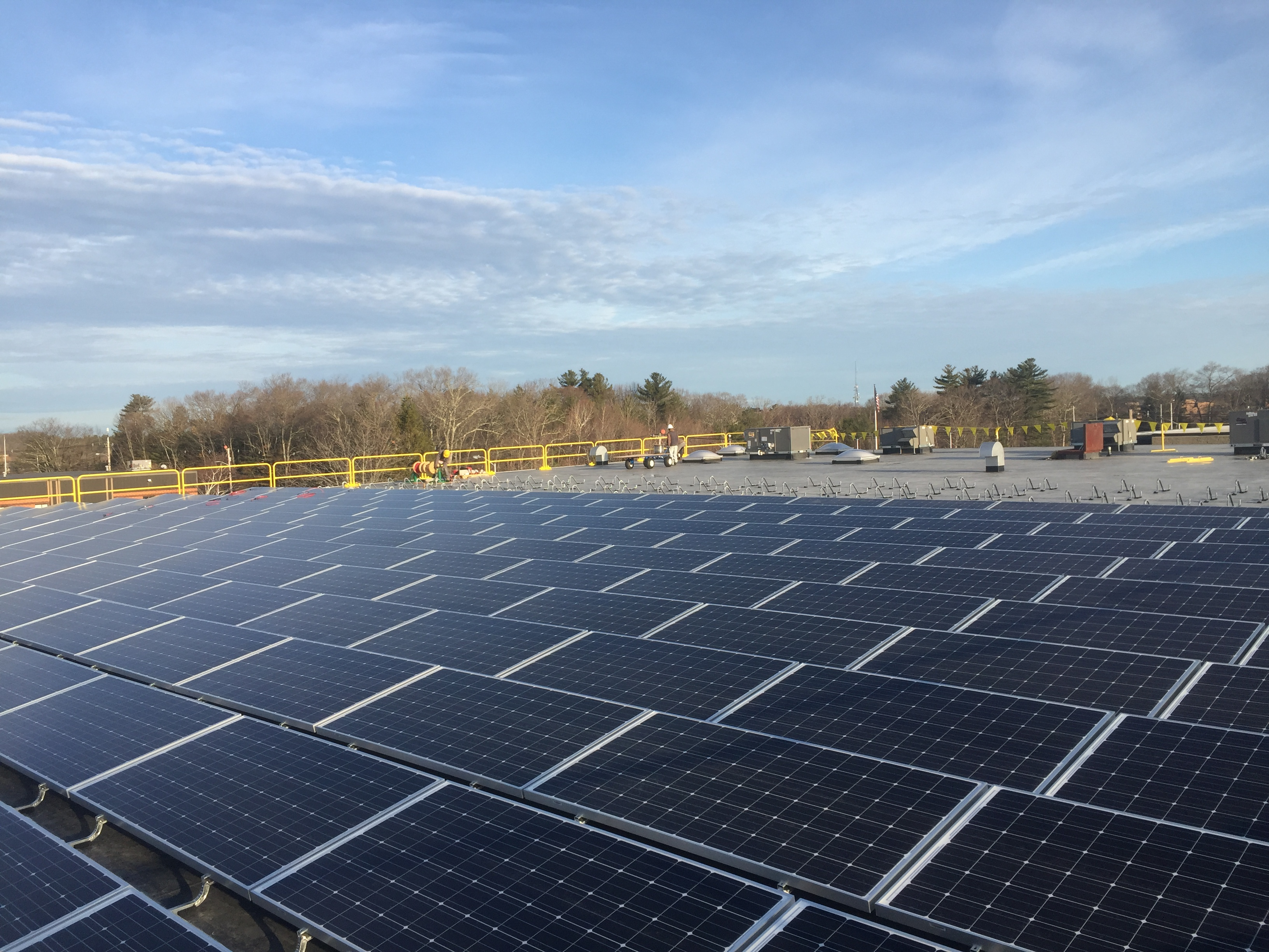 This 131kW DC solar system for Baynes Electric Supply Co provides